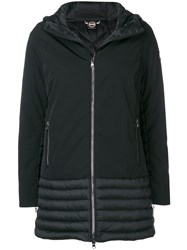 Colmar Panelled Padded Parka Black