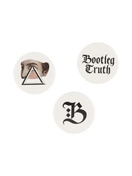 Undercover Bootleg Truth Brooch Multicolour