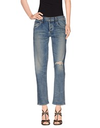 Citizens Of Humanity Denim Denim Trousers Women Blue