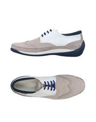 Lo.White Lo. White Lace Up Shoes Light Grey