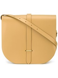 The Cambridge Satchel Company Saddle Bag Yellow Orange