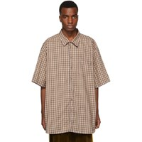 Gucci Blue Oversized Check Shirt