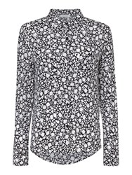 Samsoe And Samsoe Milly Ditsy Floral Shirt Green