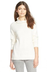 Women's Hinge Funnel Neck Sweater Ivory