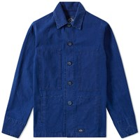 Bleu De Paname Heater Jacket Blue