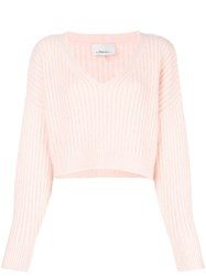 3.1 Phillip Lim Relaxed Fit Jumper Pink And Purple