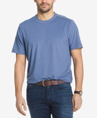 G.H. Bass And Co. Men's Explorer Performance T Shirt Medieval Blue Heather