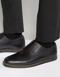 Frank Wright Trinder Lace Up Shoes In Black Leather Black