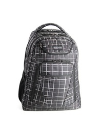 Kenneth Cole Reaction Tribute Double Gusset Computer Backpack Black