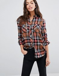 Only Checked Shirt Multi