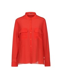 Cacharel Shirts Red