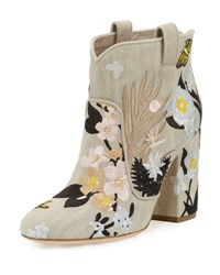Laurence Dacade Pete Floral Embroidered Western Boot