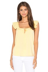 Vava By Joy Han Fanya Sleeveless Top Yellow
