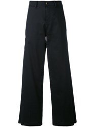 Societe Anonyme Elvis Trousers Women Cotton 44 Black