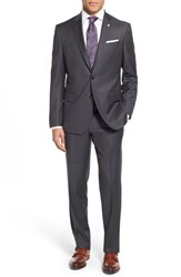 Men's Ted Baker London 'Jay' Trim Fit Solid Wool Suit