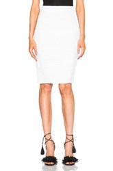 Jonathan Simkhai Bandage Scallop Skirt In White