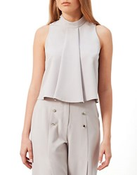 Miss Selfridge Pleated Shell