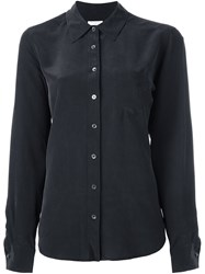 Equipment Button Down Shirt Black