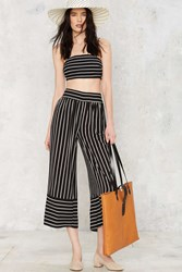 Nasty Gal After Party Vintage Sicily Striped Pants