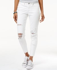 American Rag Ripped Skinny Jeans Only At Macy's One White