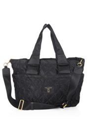 Marc By Marc Jacobs Nylon Knot Babybag Midnight Blue Black