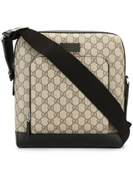 Gucci House Pattern Messenger Bag Nude Neutrals