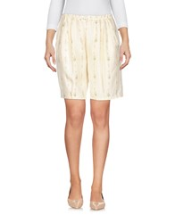 Girl By Band Of Outsiders Bermudas Ivory