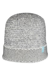 Men's Ben Sherman Chevron Knit Cap Grey Smoked Pearl