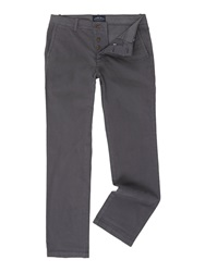 Criminal Stanley Slim Leg Chino Charcoal