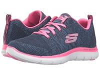 Skechers Flex Appeal 2.0 High Energy Navy Pink Women's Shoes