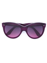 Oliver Goldsmith 'Manhattan' Sunglasses Pink And Purple