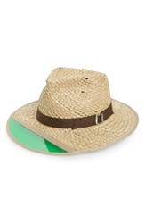 Brixton Men's Hunter Straw Fedora