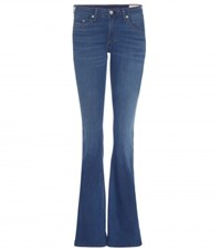 Rag And Bone Bell Flared Jeans Blue