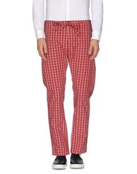 Patrizia Pepe Trousers Casual Trousers Men Red