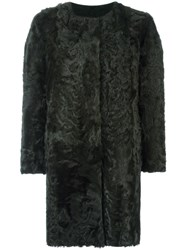 Simonetta Ravizza 'Luxord' Coat Green