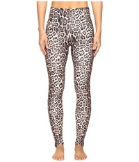 Onzie High Rise Leggings Leopard Women's Casual Pants Animal Print