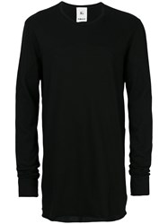 Lost And Found Rooms Mesh Intarsia T Shirt Men Cotton Xl Black