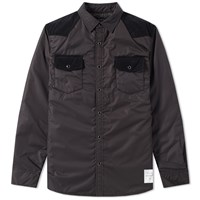 Denim By Vanquish And Fragment Western Padding Shirt Black