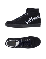 Galliano Footwear High Tops And Trainers Men Dark Blue