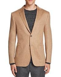 Hickey Freeman Camel Hair Slim Fit Sport Coat Tan
