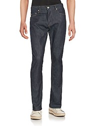 Michael Kors Slim Fit Straight Leg Jeans Indigo