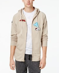American Rag Men's Patch Hoodie Created For Macy's Fossil