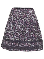 Fat Face Matilda Butterfly Garden Skirt Phantom Multi
