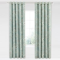 Sanderson Maelee Lined Curtains 168X229cm Seaflower
