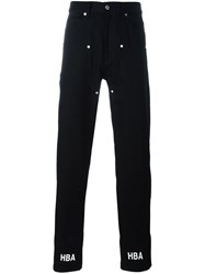 Hood By Air Double Layer Jeans Black