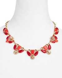 Kate Spade New York Embellished Statement Necklace 18 100 Bloomingdale's Exclusive Red Gold