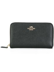 Coach Medium According Zip Wallet Black