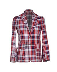 The Editor Suits And Jackets Blazers Men Red