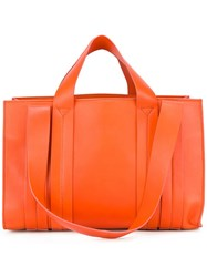 Corto Moltedo Medium 'Costanza' Tote Yellow Orange