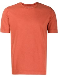 Circolo 1901 Classic T Shirt With Pocket Red
